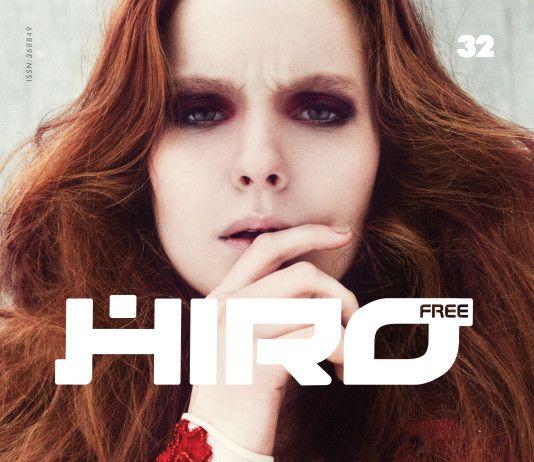 Zdjęcie Julia Kiecksee okładka magazynu HIRO 32