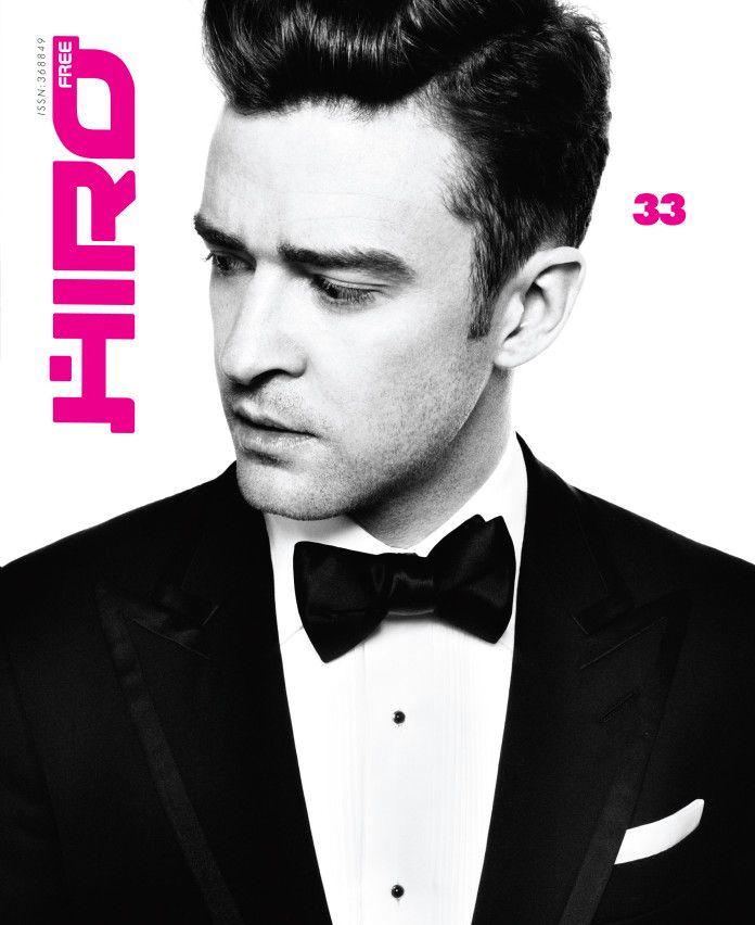 Justin Timberlake na okładce magazynu HIRO 33