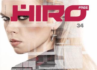 Modelka Anna Sakowicz na okładce magazynu HIRO 34