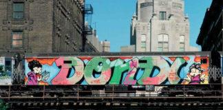 Grafitti na moście