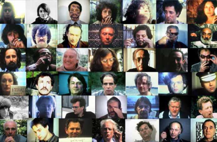 Dużo miniaturek z twarzami ludzi