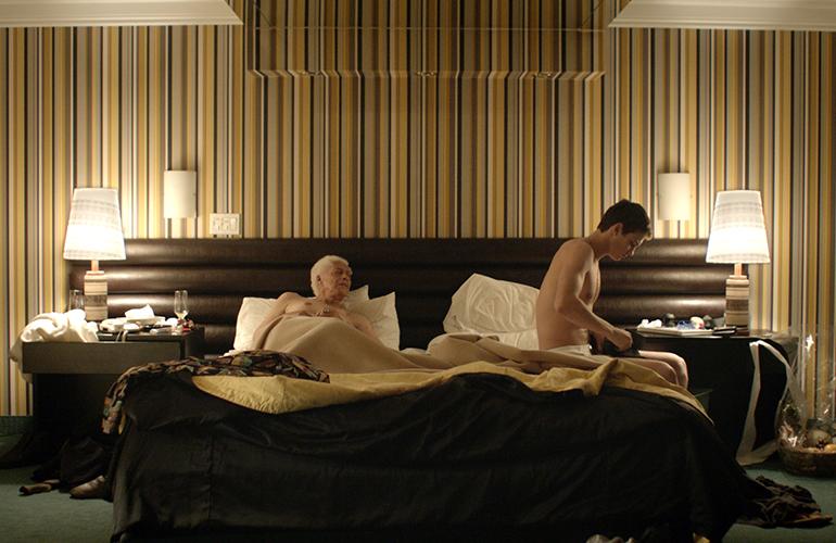 Gerontophilia chłopak i dziadek w łóżku HIRO