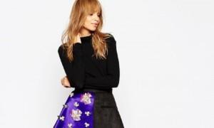 AV-Robertson-ASOS-Black-Asymmetric-Hem-Skirt-Embellished-450x270