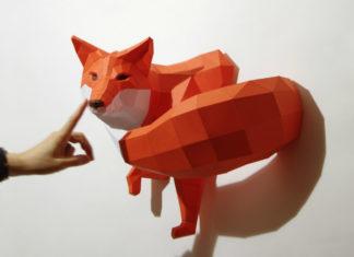 Papierowy lis