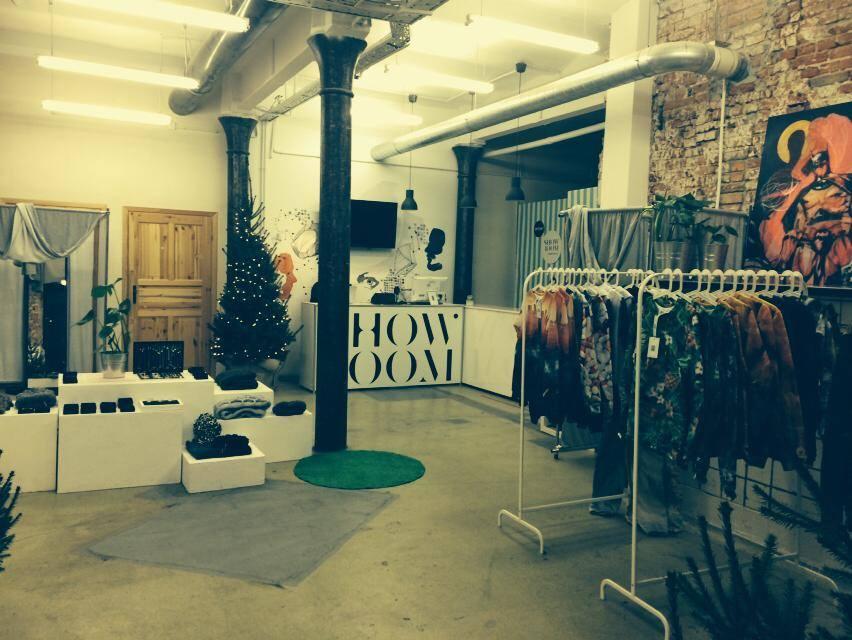 gwiazdkowy showroom pop up store