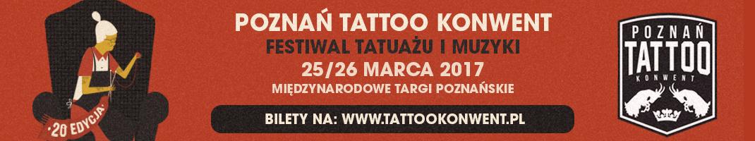 Baner promujący Tattoo Konwent