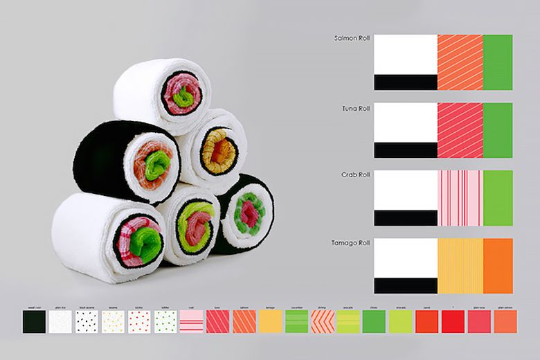 ototo-designs-sushi-towels-by-jenny-pokryvailo-2