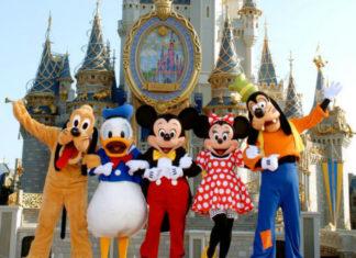 Pięć postaci Disneya