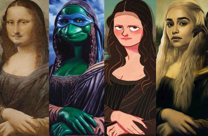 Obraz Mona Lisa w popkulturowych odsłonach