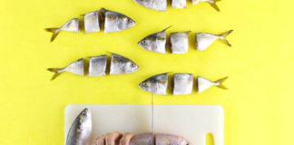Ręce, które kroja rybe