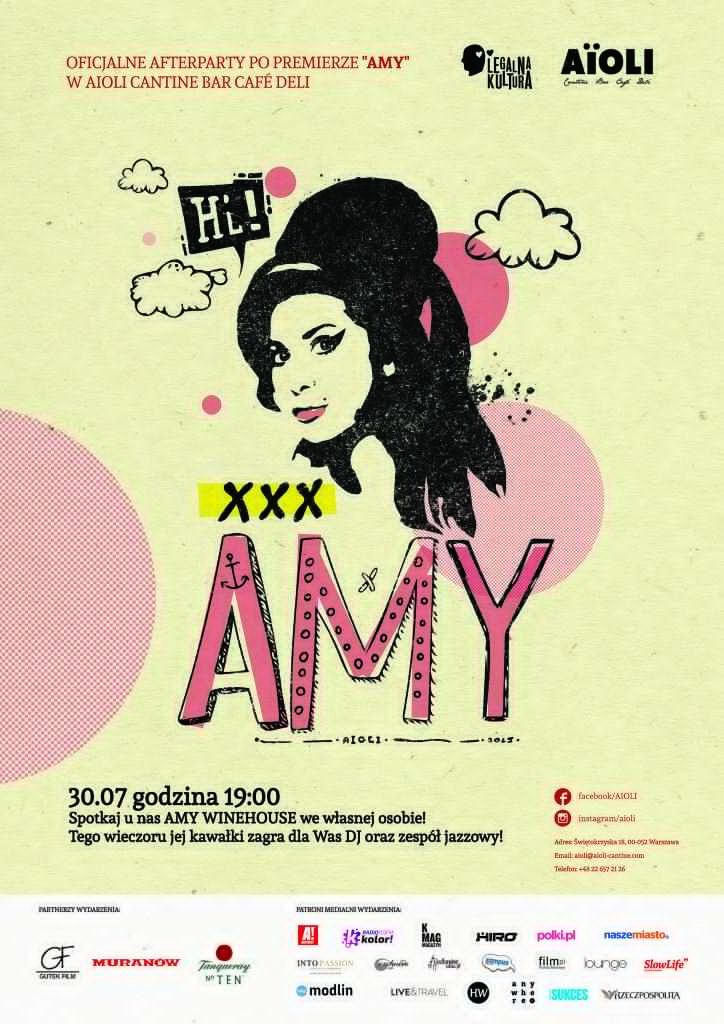 Amy Winehouse plakat - Aioli