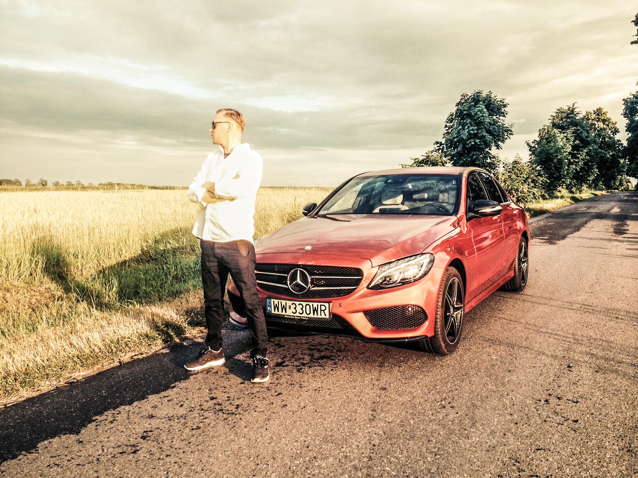 Krzysztof Grabań - test Mercedesa