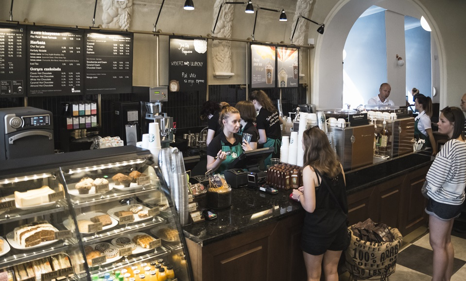 Starbucks otwarcie_Krakow 5