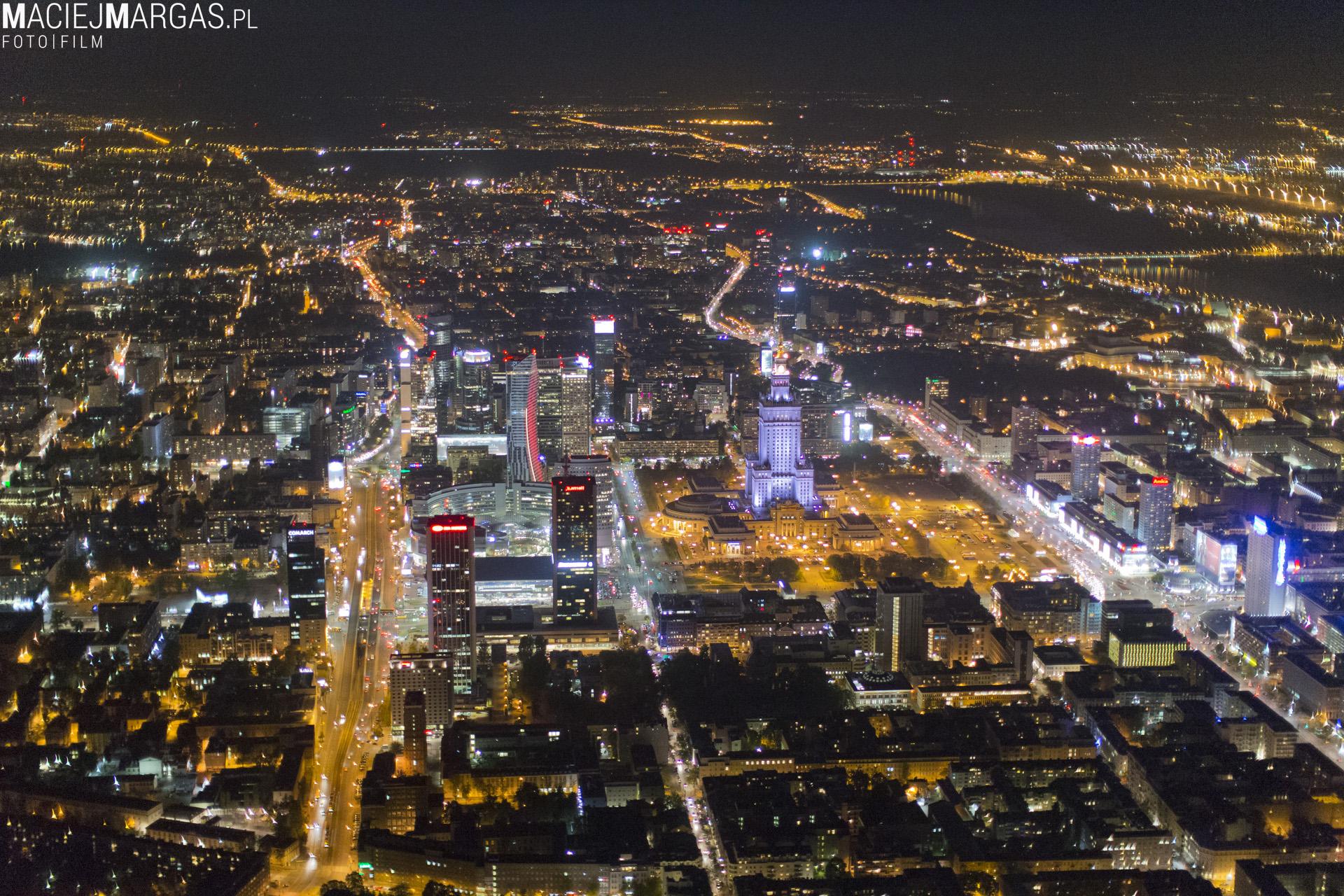 Warszawa Z Lotu Ptaka Magazyn Hiro