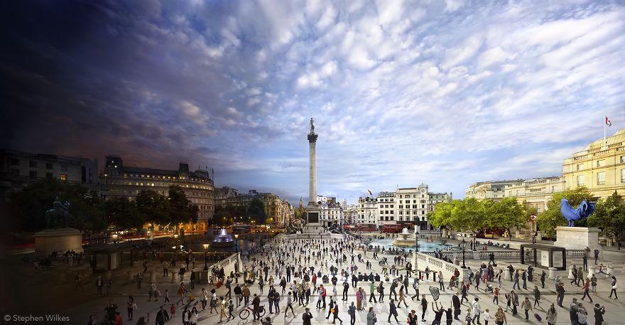 Plac Trafalgarski, Londyn