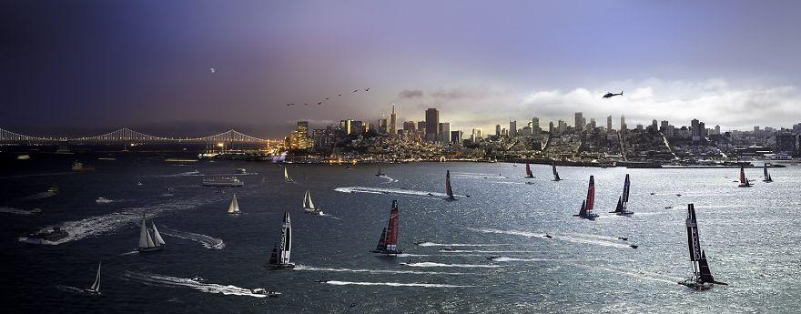 Regaty o Puchar Ameryki, San Francisco