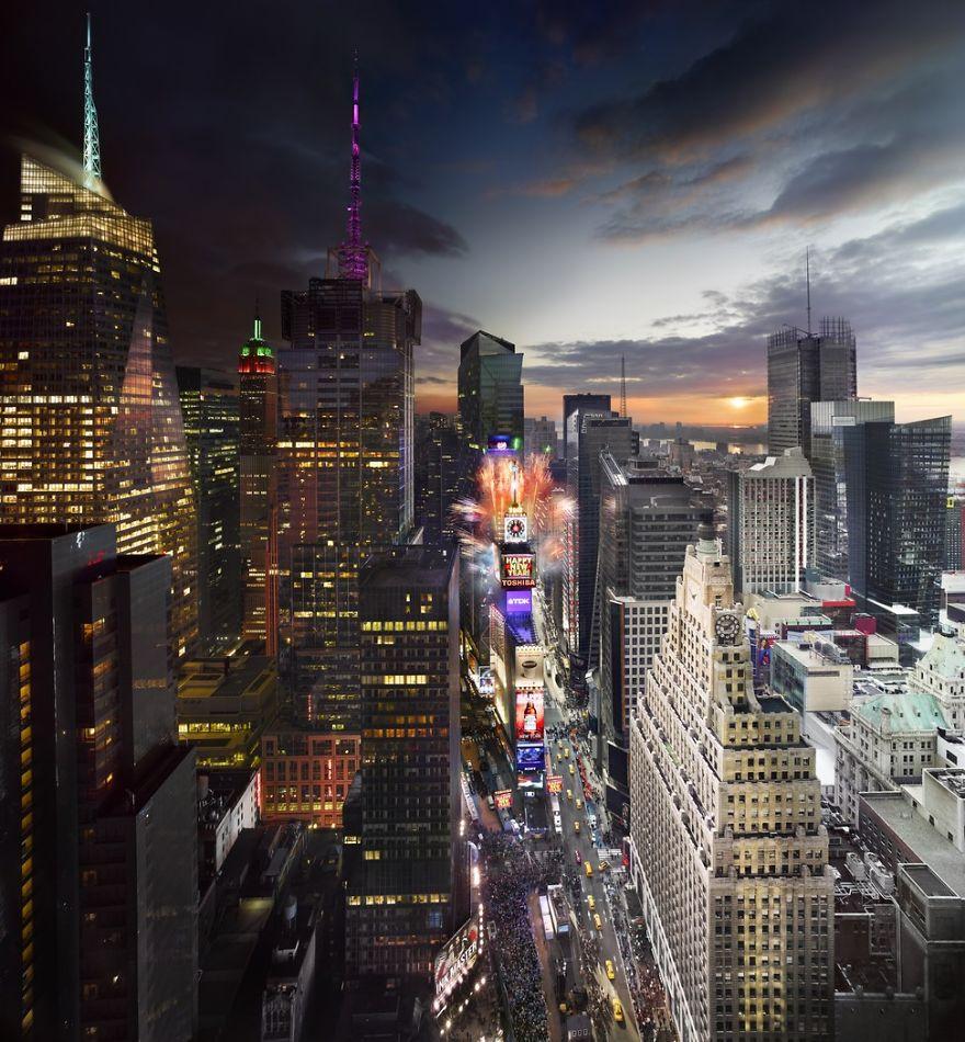 Times Square, Nowy Rok w Nowym Jorku