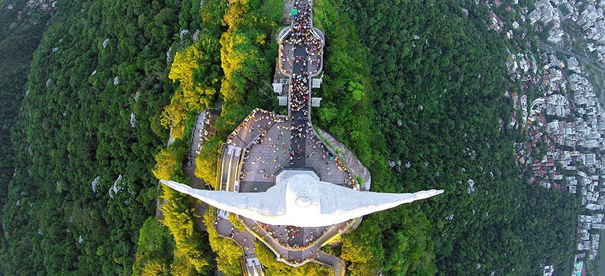 najlepsze zdjęcia z dronów