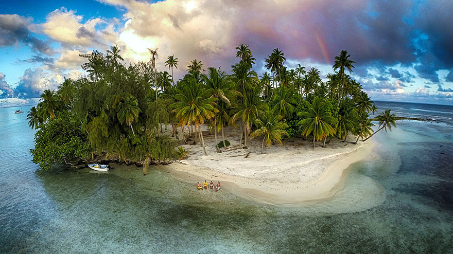 rajska wysepka najlepsze zdjęcia z dronów Magazyn HIRO