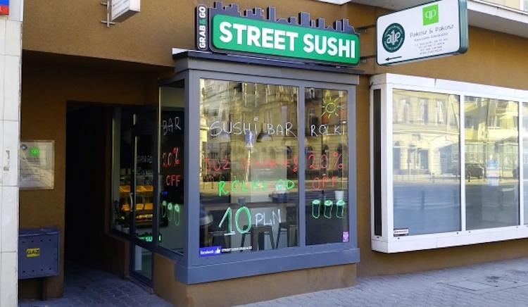 street sushi bar na Kruczej
