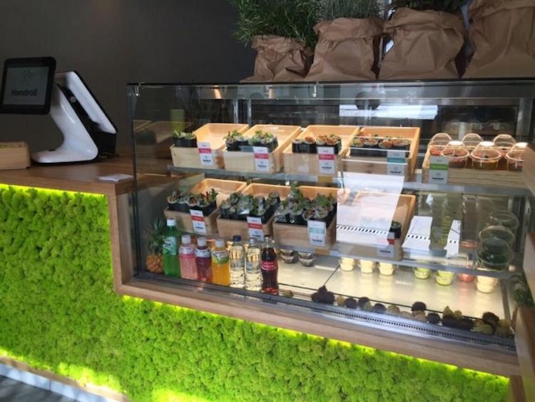wystawa sushi handroll na Francuskiej w Warszawie