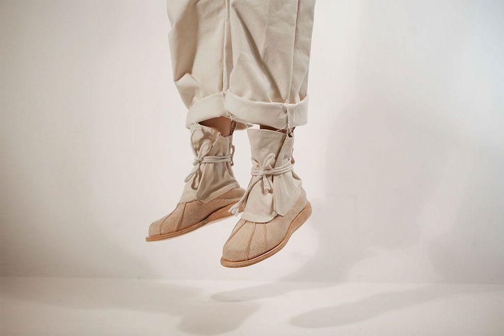 buty Skywalkera beżowe