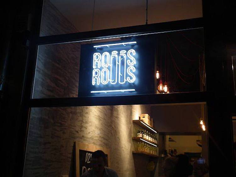 neon Rolls and Rolls sushi na Chmielnej