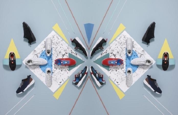 zdjęcie kampanii ronin croppa z kolorowymi butami