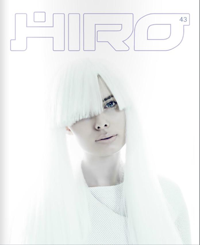 Okładka magazynu HIRO Fot. Koty2 Różena Grey Vox Models