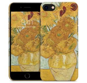 Obudowa na iPhone'a z reprodukcją słoneczników Van Gogha