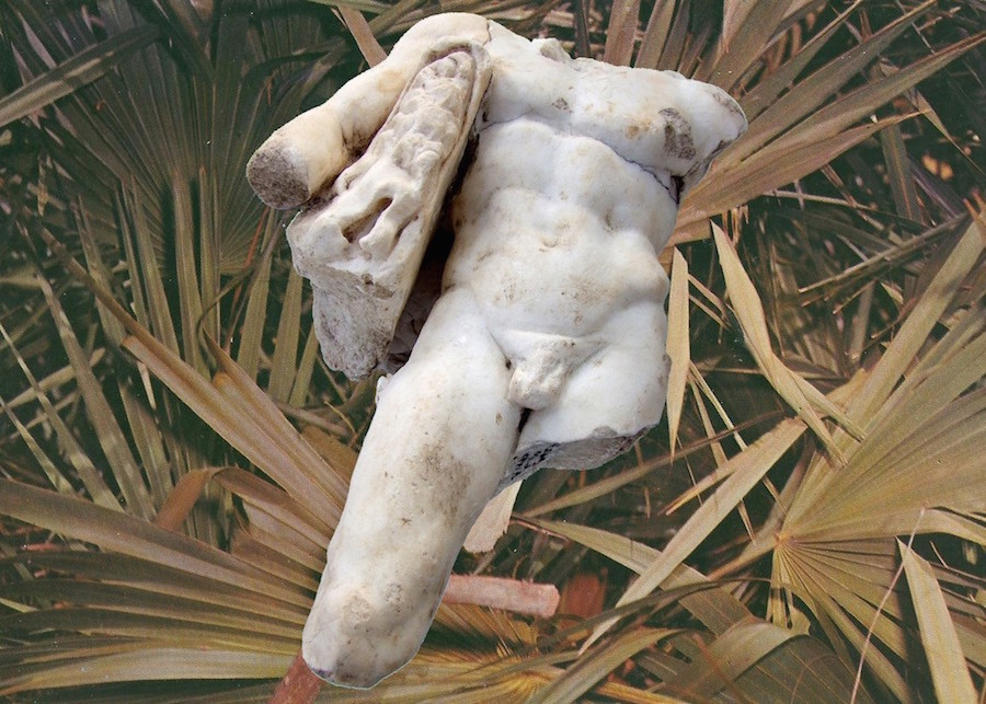 wild live grecki posąg palma