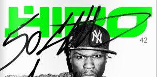 50 Cent na okładce magazynu HIRO magazine cover