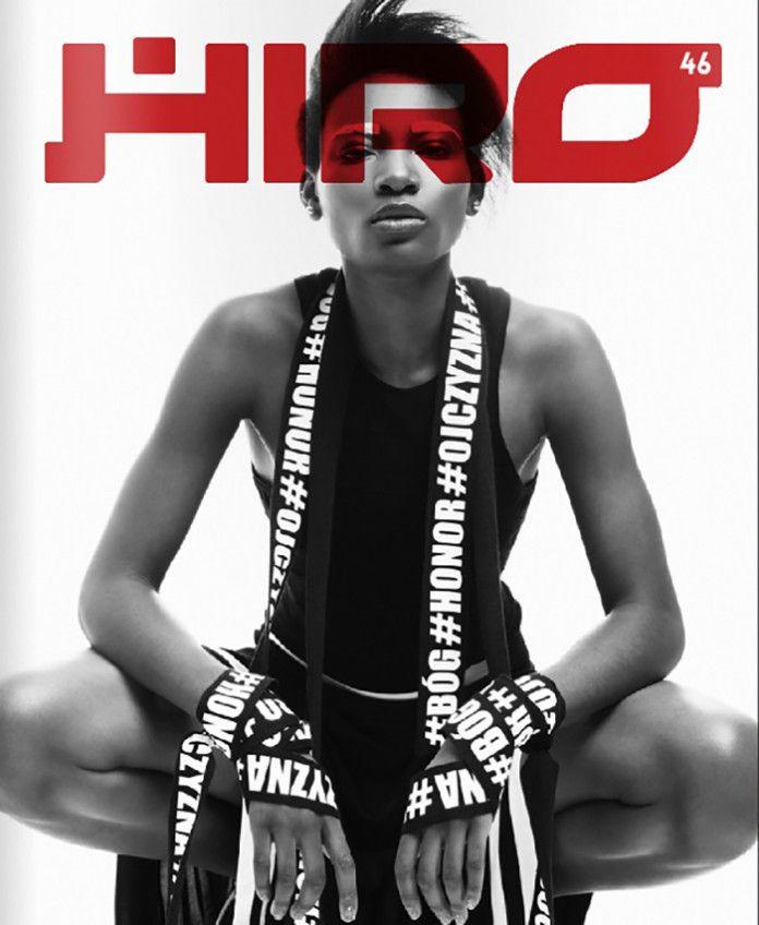 Osi Ugonoh na okładce magazynu HIRO fot. Łukasz Dziewic