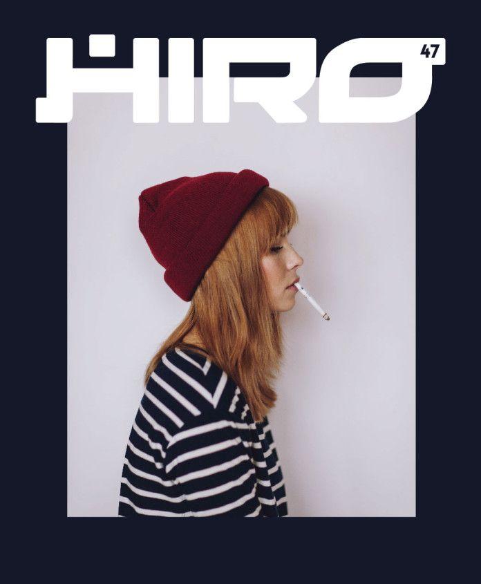 Okładka HIRO 47 dziewczyna z papierosem
