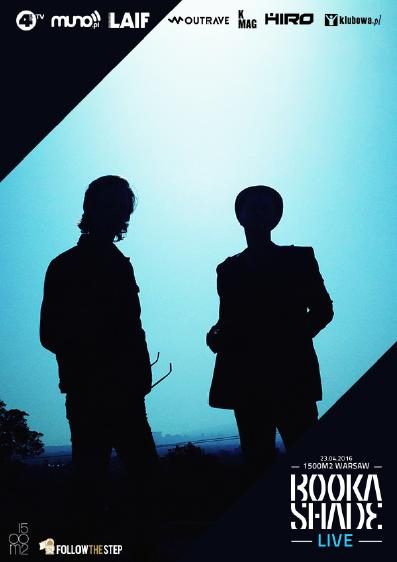 dwie ciemne postaci na niebieskim tle