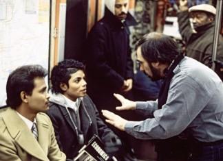 michael jackson i martin scorsese na planie teledysku do bad metro ameryka lata 80.