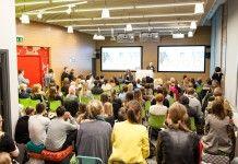 tłumy na spotkaniu w sali google polska