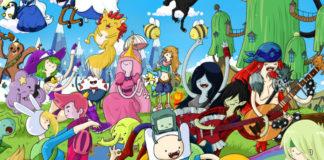 Postacie z kreskówki Adventure Time