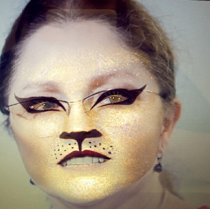 Krystyna Pawłowicz i filtr dzikiego kota