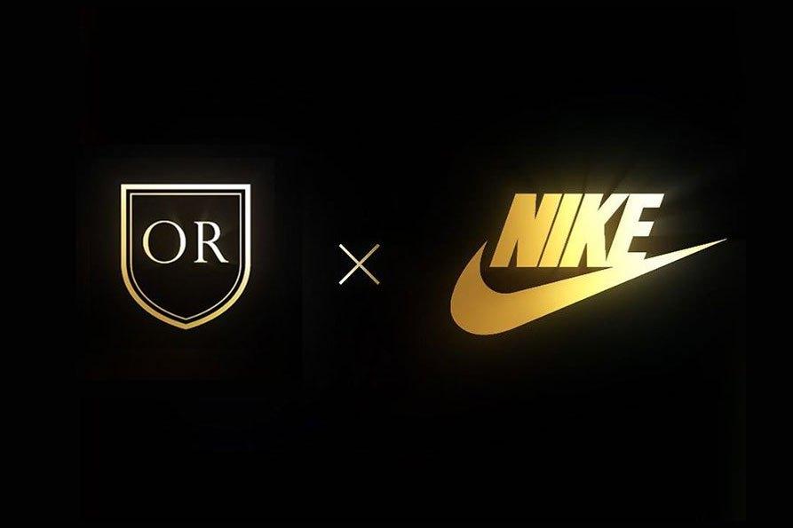 logo Nike x Olivier Rousteing