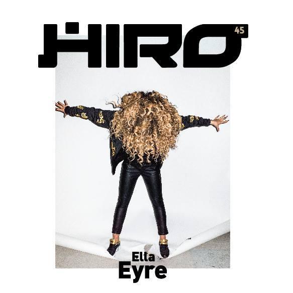 okladka magazynu HIRO ella eyre
