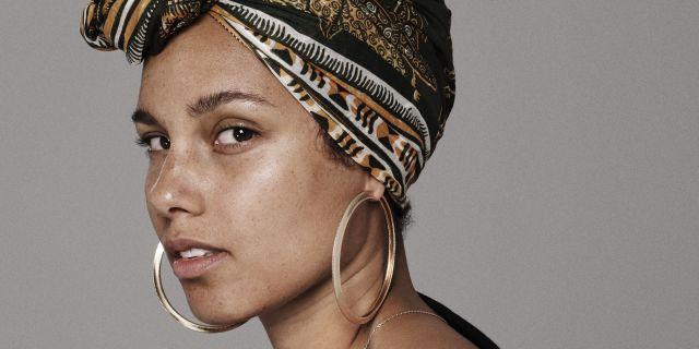 Alicia Keys bez makijażu, sesja do singla In Common, naturalność