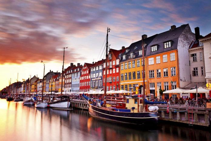 Piękna Kopenhaga