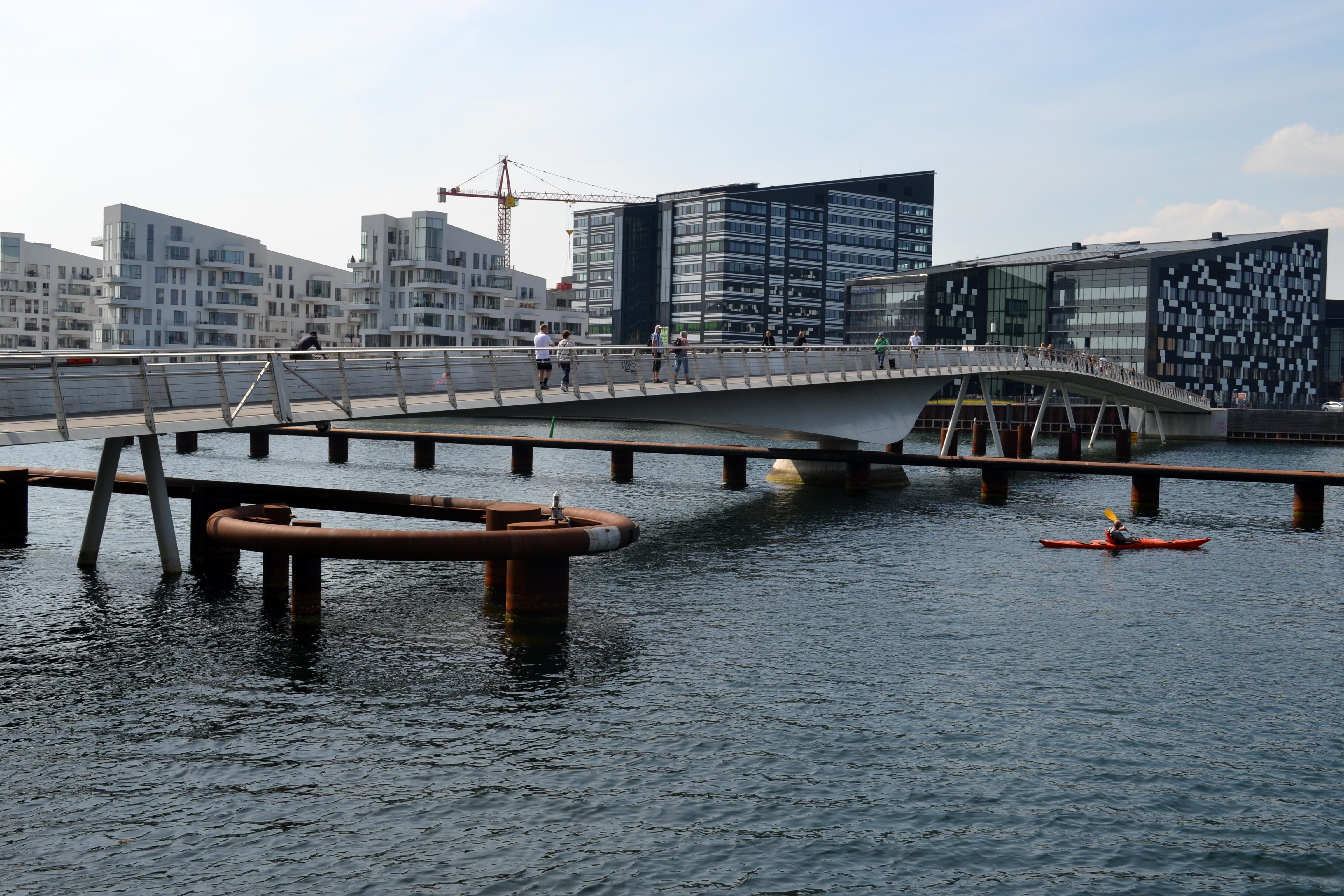 most nad wodą w Kopenhadze