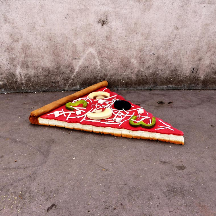 pizza z materaca