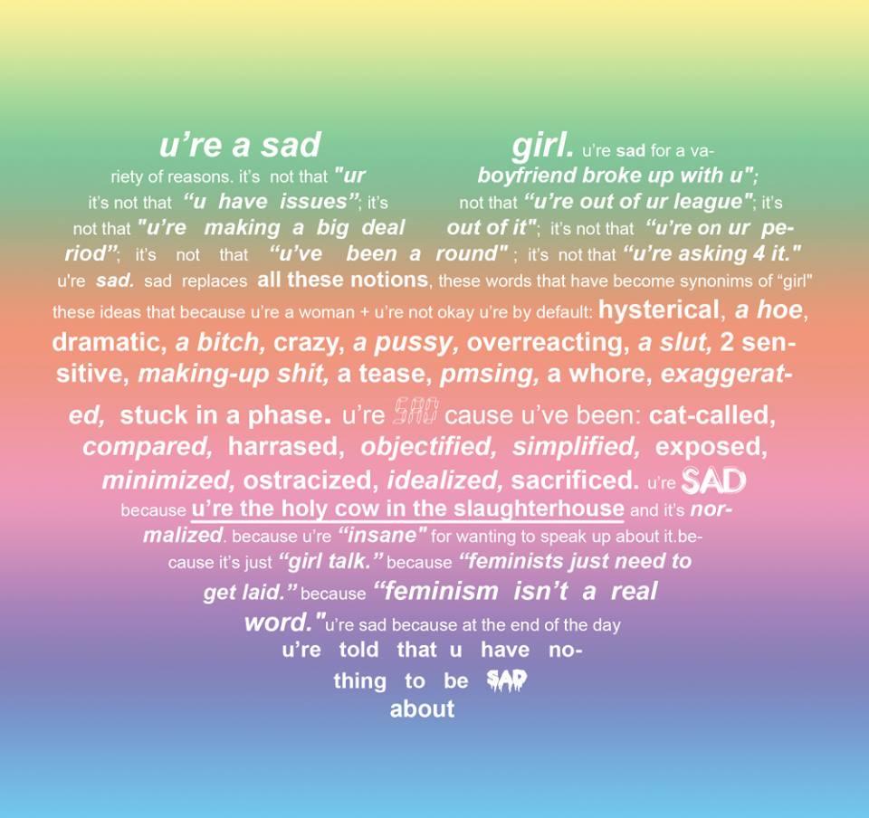 manifest sad girls y que