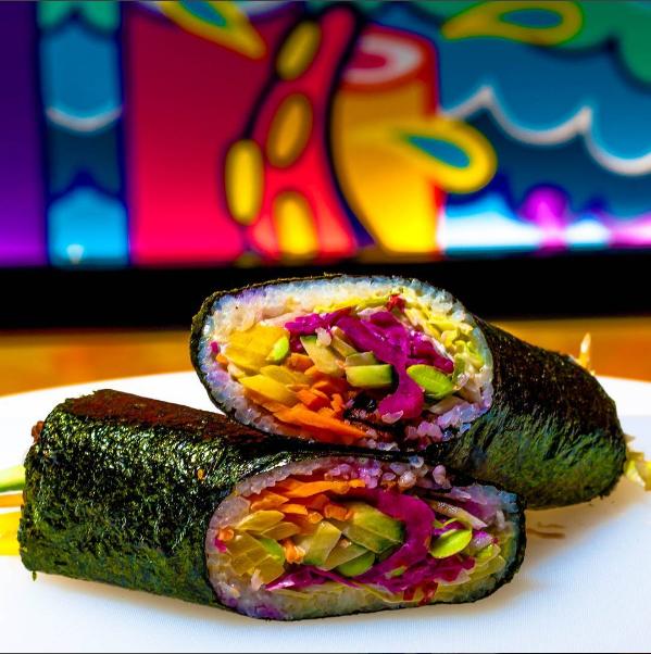 Dwa kawałki sushito