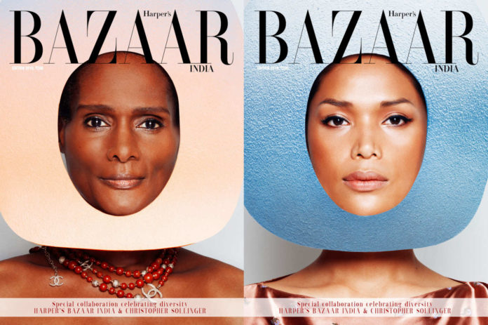 Okładki indyjskiego Harper's Bazaar z transpłciowymi modelkami