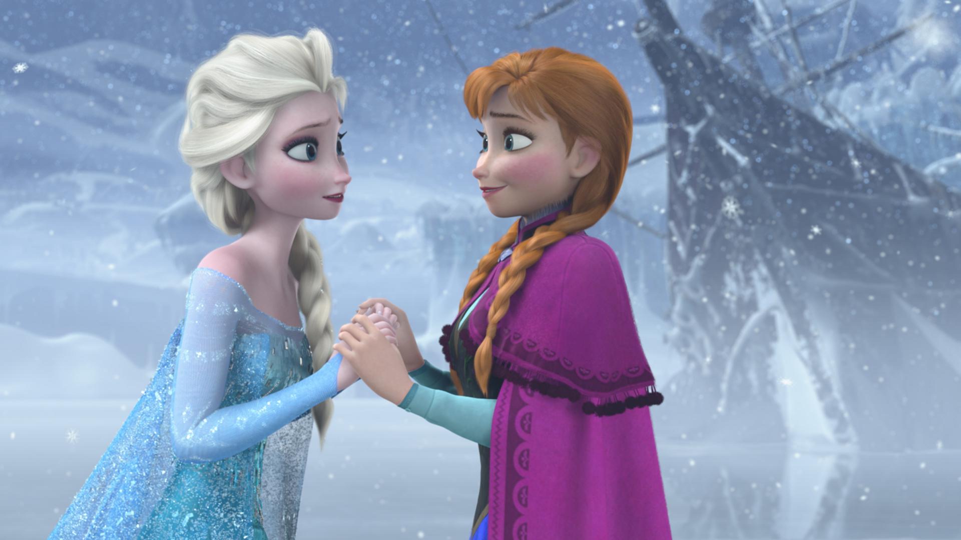 Elsa i Anna z Krainy Lodu