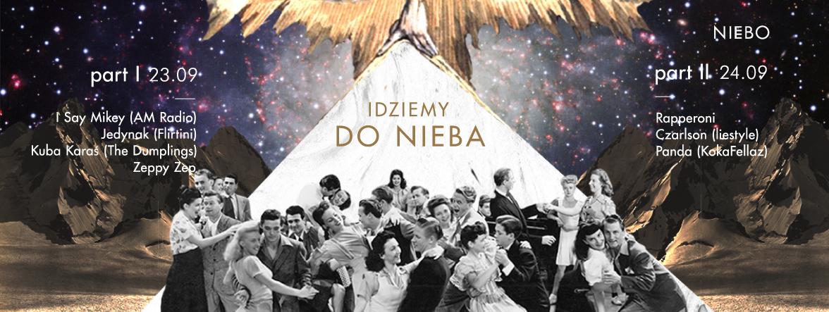 Plakat Idziemy do Nieba